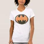 Logotipo de semitono rojo de Batman Camisetas