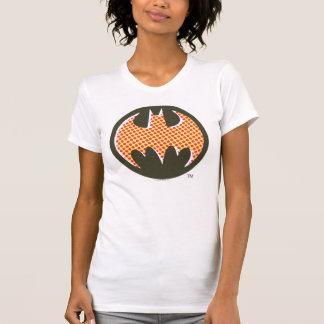 Logotipo de semitono rojo de Batman Tee Shirt
