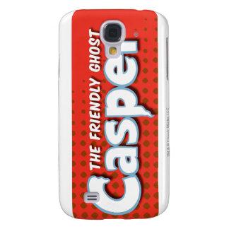 Logotipo de semitono rojo de Casper Samsung Galaxy S4 Cover