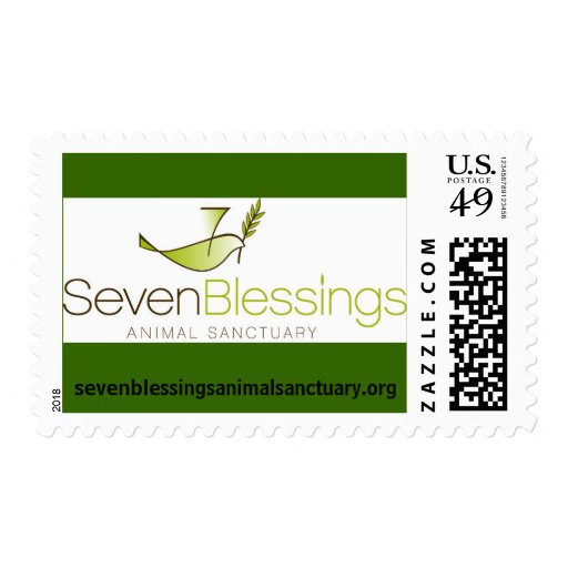 logotipo de sevenblessingsanimalsanctuary.org sello