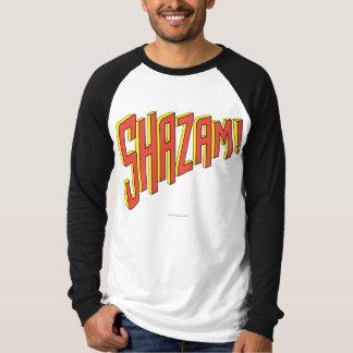 Logotipo de Shazam rojo/amarillo Remera