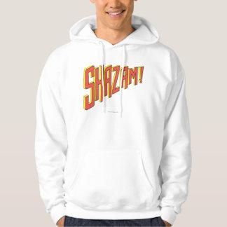 Logotipo de Shazam rojo/amarillo Sudaderas Con Capucha