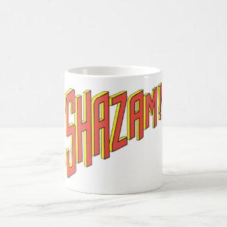 Logotipo de Shazam rojo/amarillo Taza De Café