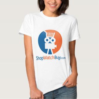 Logotipo de ShopWatchBuy Playera