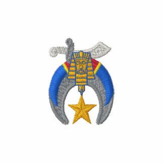 Logotipo de Shriner con nombre personalizado Polo Bordado