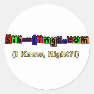 logotipo de Sib-Lings.com Etiquetas Redondas