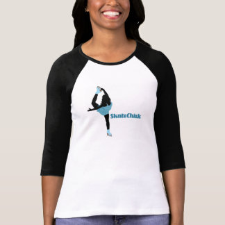 Logotipo de SkateChick Playera