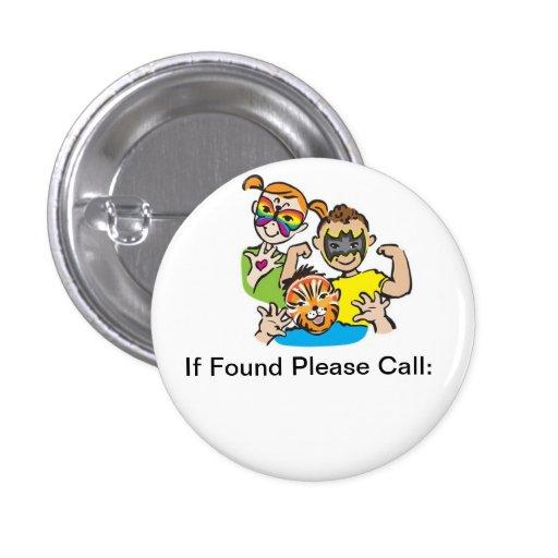 Logotipo de SPK si botón encontrado Pin