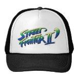 Logotipo de Street Fighter II Gorras De Camionero