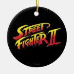Logotipo de Street Fighter II Ornamentos De Reyes
