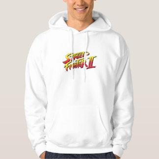 Logotipo de Street Fighter II Sudadera