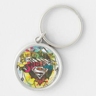 Logotipo de Supergirl el lux Llavero