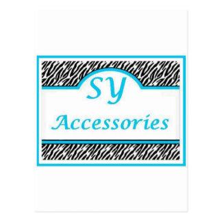 Logotipo de SY Acessories Tarjetas Postales