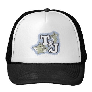 Logotipo de Tom y Jerry T&J Gorras De Camionero