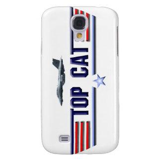 Logotipo de Top Cat Funda Para Galaxy S4