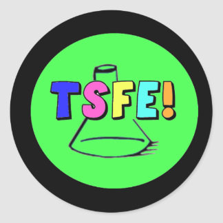 Logotipo de TSFE Pegatinas Redondas