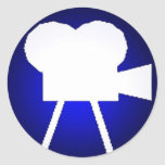 Logotipo de TTTstudios Pegatina Redonda