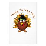 Logotipo de Turquía del Día de Acción de Gracias d Papelería De Diseño