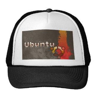Logotipo de Ubuntu Linux y círculo de amigos Gorra