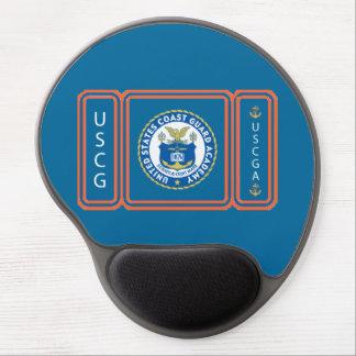 Logotipo de USCGA Alfombrilla De Ratón Con Gel