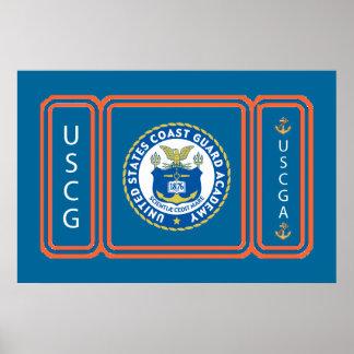 Logotipo de USCGA Poster