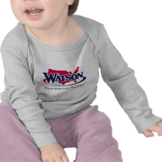 logotipo de watson camiseta