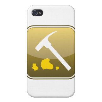 Logotipo de Webnuggetz limpio iPhone 4/4S Funda