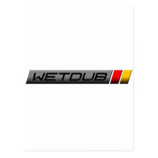 Logotipo de Wetdub por Brent Davis Postal