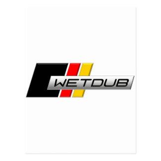 Logotipo de Wetdub por Brent Davis Postales