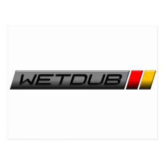 Logotipo de Wetdub por Brent Davis Tarjetas Postales