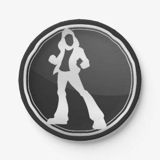 Logotipo de WLHQ demasiado caro Plato De Papel De 7 Pulgadas