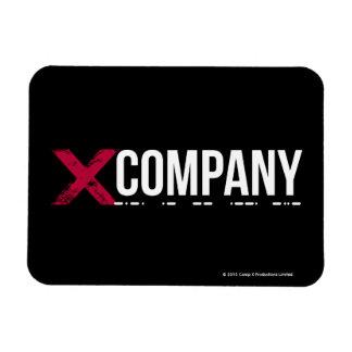 Logotipo de X Company Rectangle Magnet