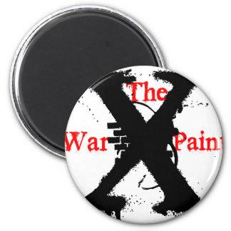 """Logotipo de """"X"""" """"de la pintura de guerra"""" Imán Para Frigorifico"""