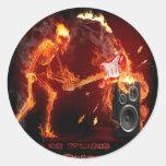 Logotipo de XORS Pegatina Redonda