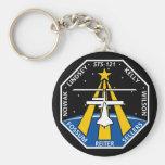 Logotipo de YOUR_NAME_HERE STS-121 Llavero