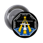 Logotipo de YOUR_NAME_HERE STS-121 Pin