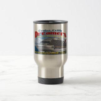 Logotipo del acero inoxidable de la taza pequeño