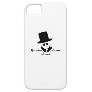 Logotipo del anexo de la calle de Borbón Funda Para iPhone SE/5/5s