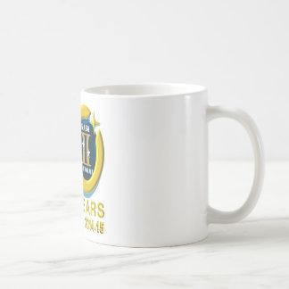 Logotipo del aniversario de los géminis 50.os taza clásica