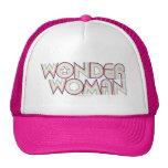 Logotipo del arco iris de la Mujer Maravilla Gorras