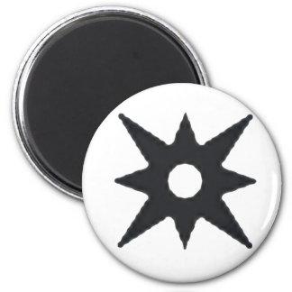Logotipo del asalto de Firefall Imán Redondo 5 Cm