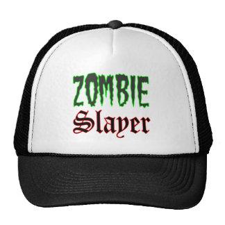 Logotipo del asesino del zombi de los regalos del gorros bordados