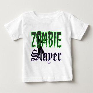 Logotipo del asesino del zombi de los regalos del playera de bebé
