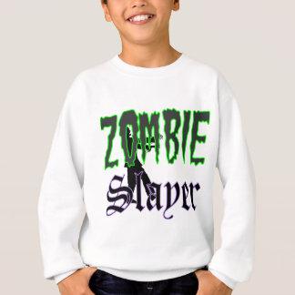 Logotipo del asesino del zombi de los regalos del sudadera
