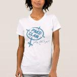 Logotipo del azul de la camisa de PMS