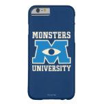 Logotipo del azul de la universidad de los funda barely there iPhone 6