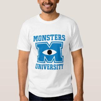 Logotipo del azul de la universidad de los polera