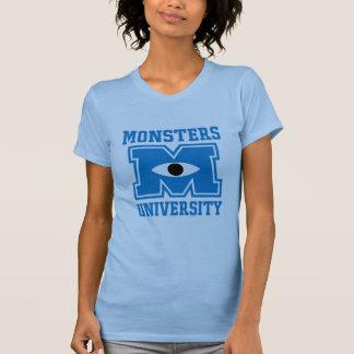 Logotipo del azul de la universidad de los remera