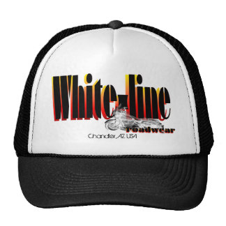 Logotipo del Bagger del Blanco-Line Gorro
