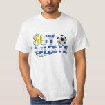 Logotipo del balón de fútbol de Futbol de la Playeras